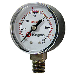 Kegco Replacement Keg Beer Regulator Gauges