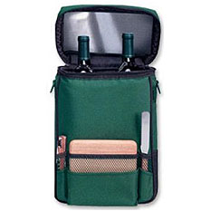 Picnic Time Two-Bottle Wine Cases & Wine Carriers
