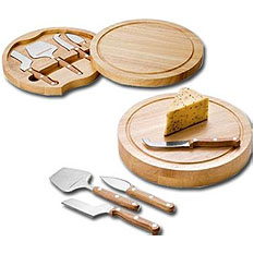 Picnic Time Cheese Slicers & Knife Sets