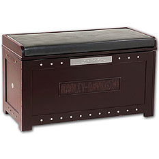 Harley-Davidson Storage Bench